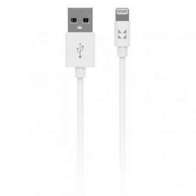 IONIKK Lightning Data Cable 1.3m. - сертифициран lightning кабел (130 см.) за iPhone, iPad и iPod с Lightning вход (бял)