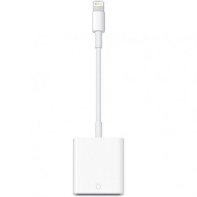 Apple Lightning to SD Card Camera Reader - четец за SD карти за iPhone и iPad с Lightning