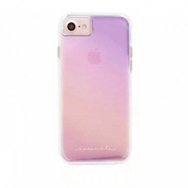 CaseMate Naked Tough Iridescent Case - кейс с висока защита за iPhone 8, iPhone 7, iPhone 6S, iPhone 6