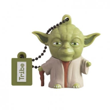 USB Tribe Star Wars Yoda USB Flash Drive 16GB - USB флаш памет 16GB
