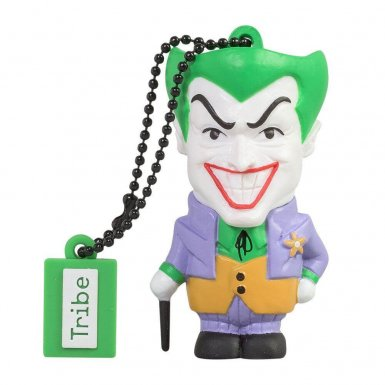 USB Tribe DC Comics Joker USB Flash Drive 16GB - USB флаш памет 16GB