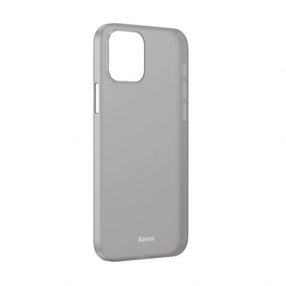 Baseus Wing case - тънък полипропиленов кейс (0.45 mm) за iPhone 12 (черен)