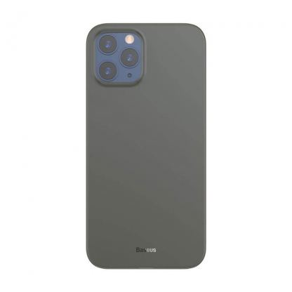Baseus Wing case - тънък полипропиленов кейс (0.45 mm) за iPhone 12 Pro Max (черен)