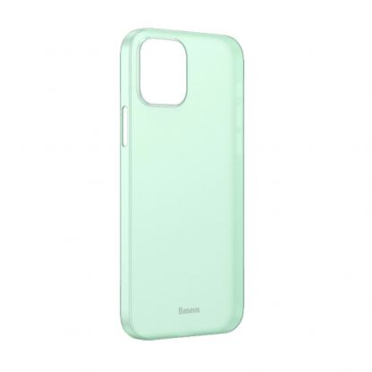 Baseus Wing case - тънък полипропиленов кейс (0.45 mm) за iPhone 12 mini (зелен)