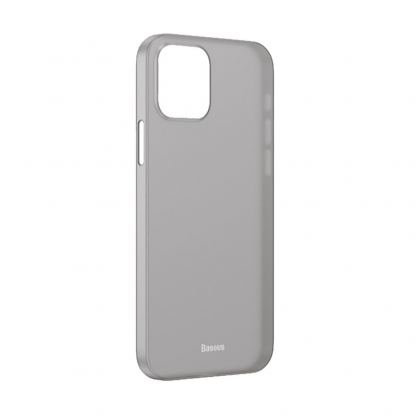 Baseus Wing case - тънък полипропиленов кейс (0.45 mm) за iPhone 12 mini (черен)