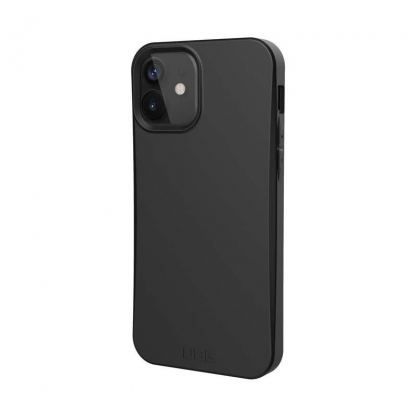 Urban Armor Gear Biodegradeable Outback Case - удароустойчив рециклируем кейс за iPhone 12, iPhone 12 Pro (черен)