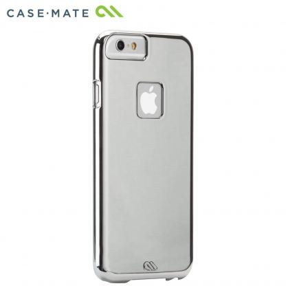 CaseMate Barely There - поликарбонатов кейс за iPhone SE (2020), iPhone 8, iPhone 7 iPhone 6S, iPhone 6 (сребрист)
