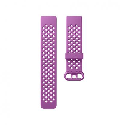 Fitbit Charge 3 Accessory Sport Band Small - еластична силиконова каишка за Fitbit Charge 3 (лилав)