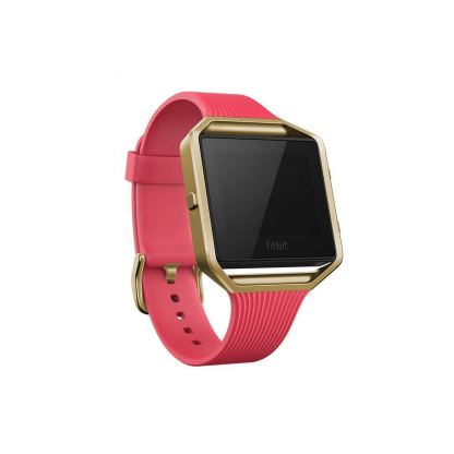 Fitbit Blaze Accessory, Tapered Band, Large - силиконова верижка за Fitbit Blaze (розов)