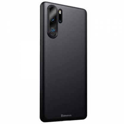 Baseus Wing case - тънък полипропиленов кейс (0.45 mm) за Huawei P30 Pro (черен)
