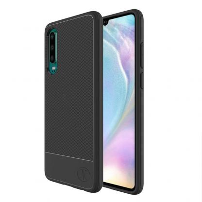JT Berlin BookCase Pankow Soft - силиконов TPU калъф за Huawei P30 (черен)