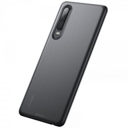 Baseus Wing case - тънък полипропиленов кейс (0.45 mm) за Huawei P30 (сив)